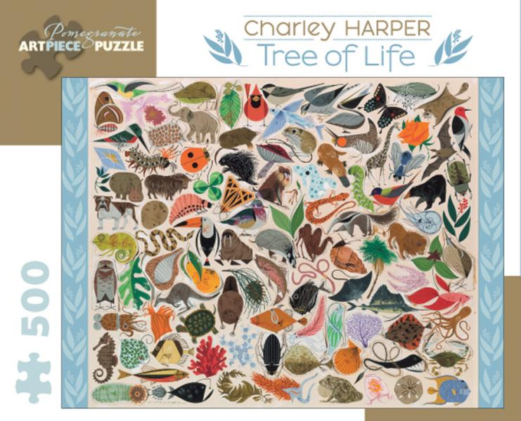 Charley Harper Tree of Life 500 pieces